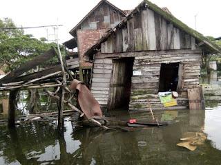 Hujan Dan Angin Kencang Hantam Dua Rumah Di Pedamaran