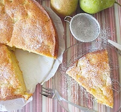 ricetta torta pere veloce