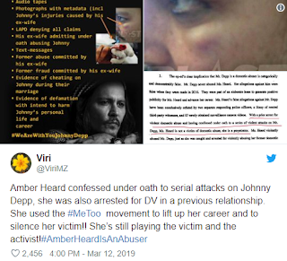 Here is the new evidence that proves Amber Heard domestically abused Johnny Depp