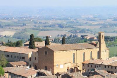 Church of San Agostino in San Gimignano