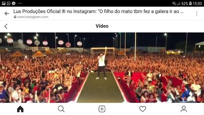 "ZÉ NETO & CRISTIANO e Cia - ""O maior show de todos os tempos"", afirma os caxienses nas redes sociais"