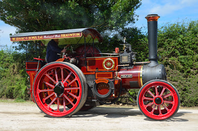 Steam engine in Cornwall