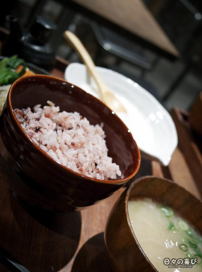 soupe et bol de riz, kyoto