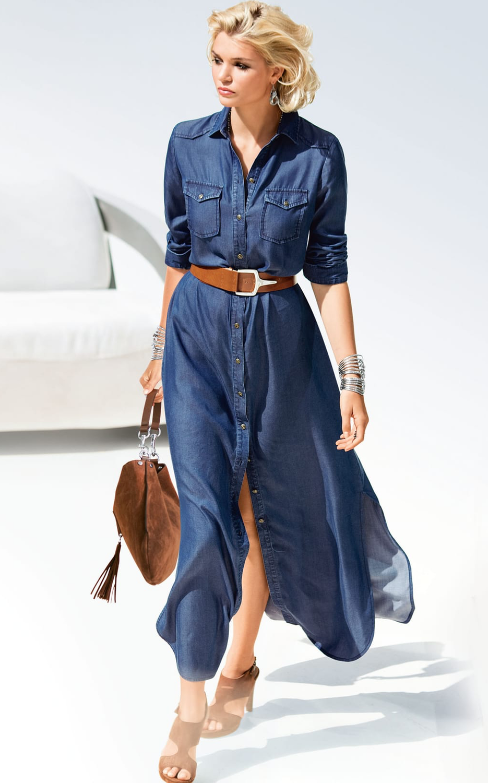 Madeleine Shirt Style Dress
