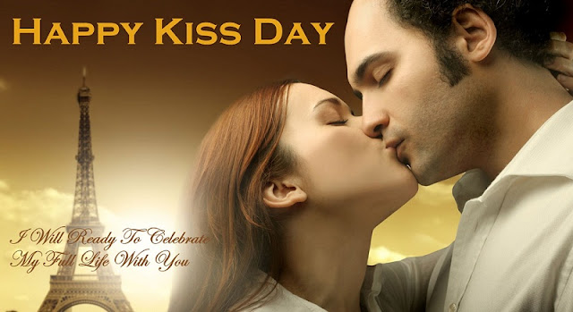 Beautiful happy Kiss Day Images
