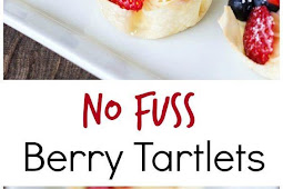 No Fuss Berry Tartlets