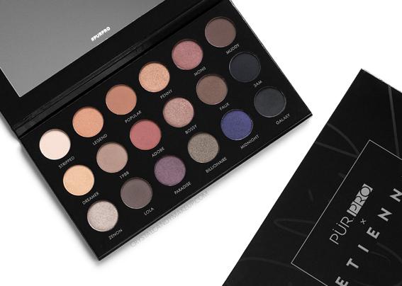 PÜR PRO x Etienne Ortego Eyeshadow Palette Review