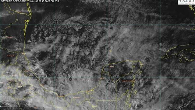 Mañana miércoles, hasta 9 grados en el sur de Yucatán
