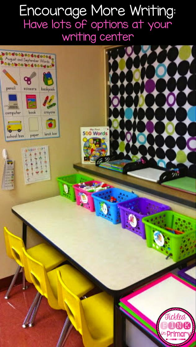Writing Center | Classroom Reveal