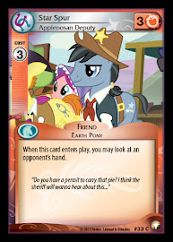 My Little Pony Star Spur, Appleoosan Deputy Equestrian Odysseys CCG Card