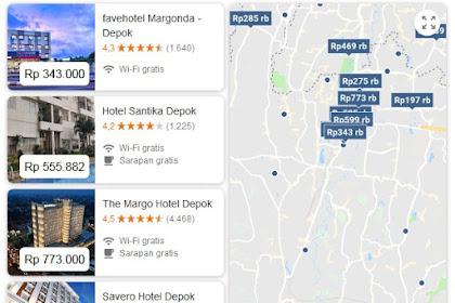 Daftar Hotel di Depok Jawa Barat yang saya Rekomendasikan