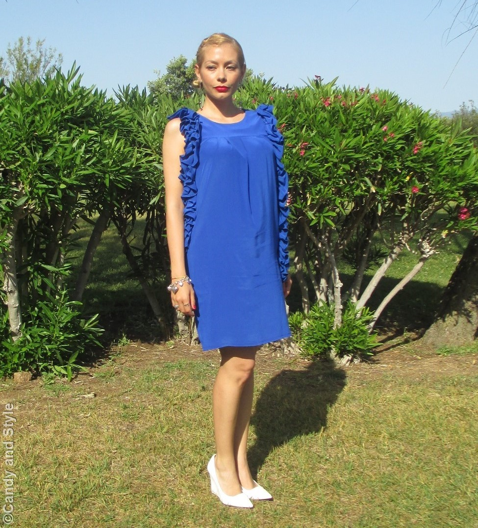 ALTOITALIANO, Lo&Lo Blue Dress - Lilli Candy and Style Fashion Blogger