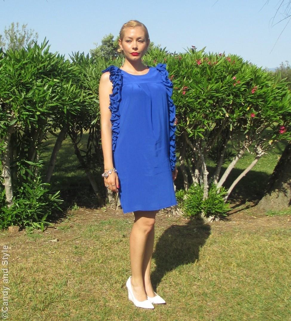 ALTOITALIANO, Lo&Lo Blue Dress - Lilli Candy and Style Fashion Blogger