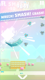 Game Ookujira - Giant Whale Rampage App