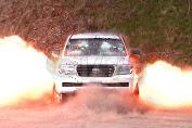 Despite Bomb Detonation, Ride This Car Is Secured Safe