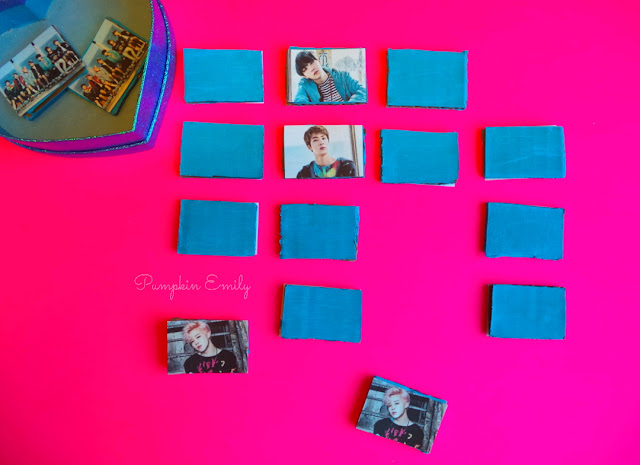 BTS DIY Memory Game
