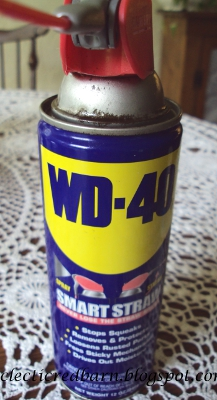Eclectic Red Barn: WD-40