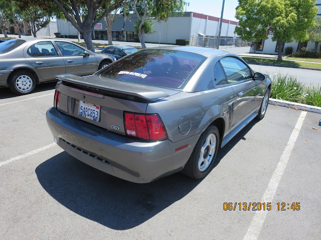 Mustang before repairs & paint at Almost Everything Auto Body