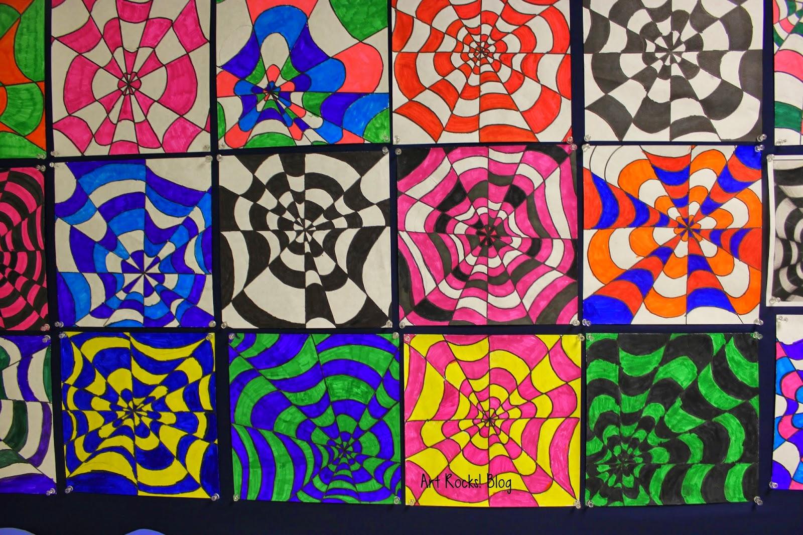 Art Rocks Grade 5 Op Art