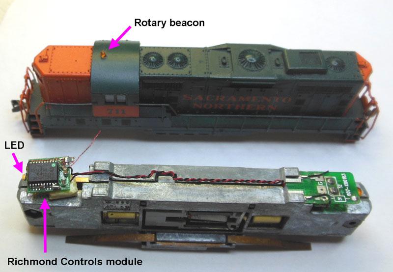Installation du décodeur kato nw2 n scale