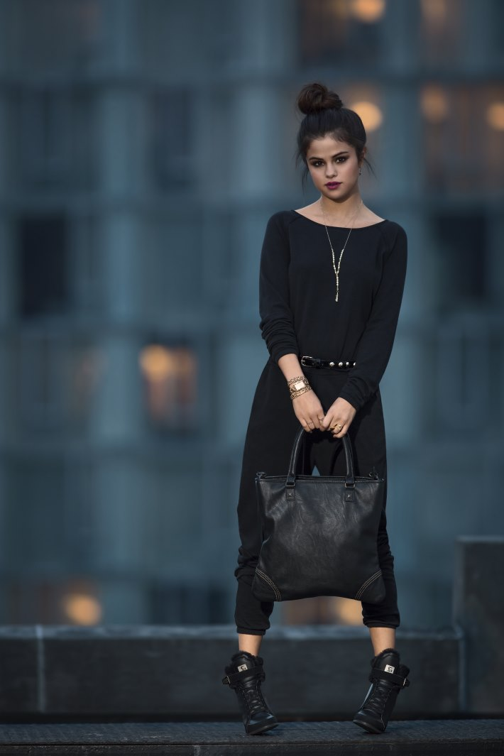 Photo: Selena Gomez Adidas NEO Winter 2014