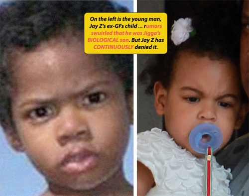 Topten Naija: Beyonce's Daughter, Baby Blue Ivy Looks Like ...