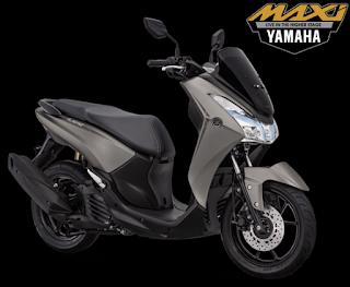 Yamaha lexi s warna matte grey
