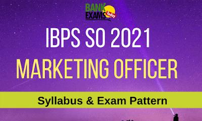 IBPS SO Marketing Syllabus [Updated]