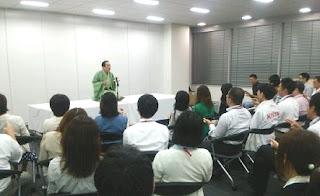 三遊亭楽春講演会 「笑いの効果・効能を感じよう!」