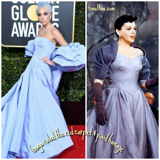 Lady Gaga Valentino homage to Judy Garland