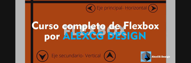 Curso-completo-de-Flexbox-por-ALEXCG-DESIGN