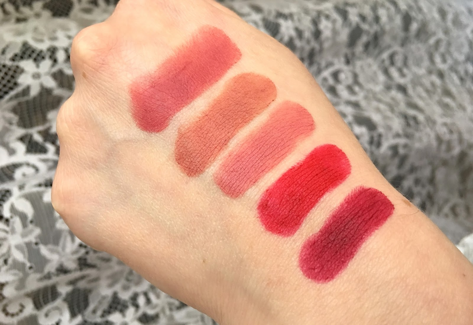 Rimmel The Only 1 Matte Swatches