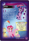 My Little Pony Discord Equestrian Friends Trading Card