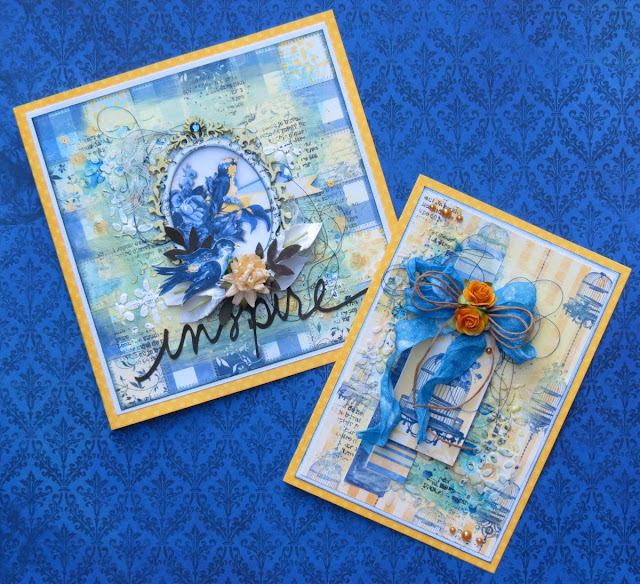 Inspire Card by Megan Gourlay using the Genevieve Collection by BoBunny