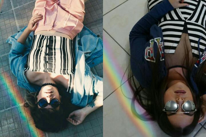 Diva Maquiada Imitando Fotos Tumblr Sozinha Casa