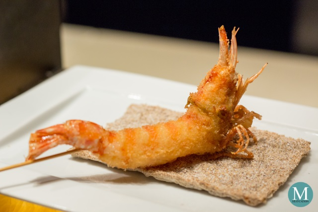 Tiger Prawn Kushiage