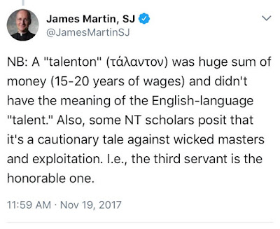 James Martin and the talents