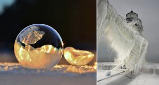 Όταν ο πάγος δημιουργεί τέχνη σε 24 υπέροχες φωτογραφίες