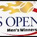 US Open Tennis Men's Singles Winners-Champions by Year.