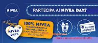 Logo Con ''Nivea Days'': ricevi il rimborso di quanto speso fino a un massimo di 50 euro