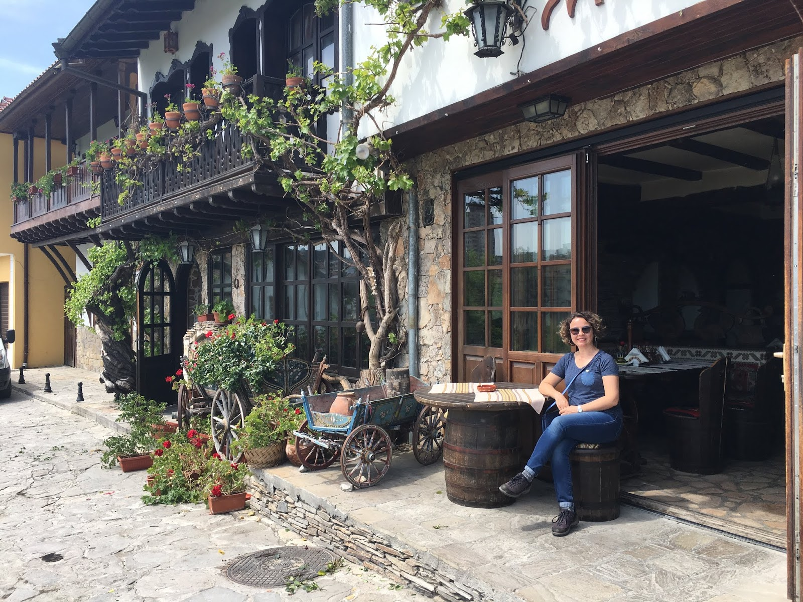 Veliko Tırnovo'da kaldığımız butik otel
