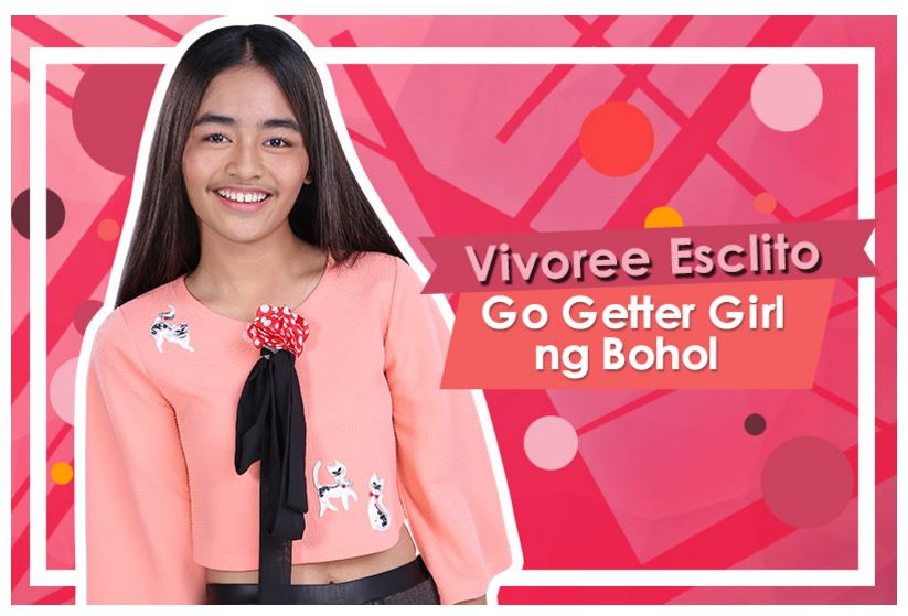 3. Vivoree Esclito, 16 (Go Getter Girl ng Bohol)