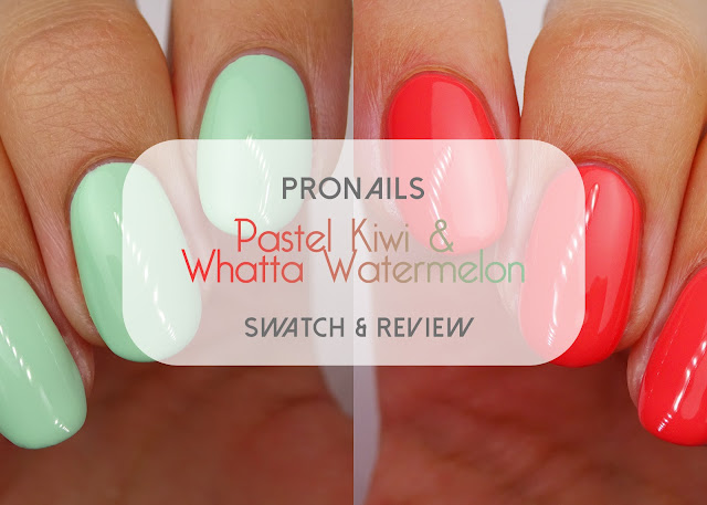 ProNails Whatta Watermelon Pastel Kiwi