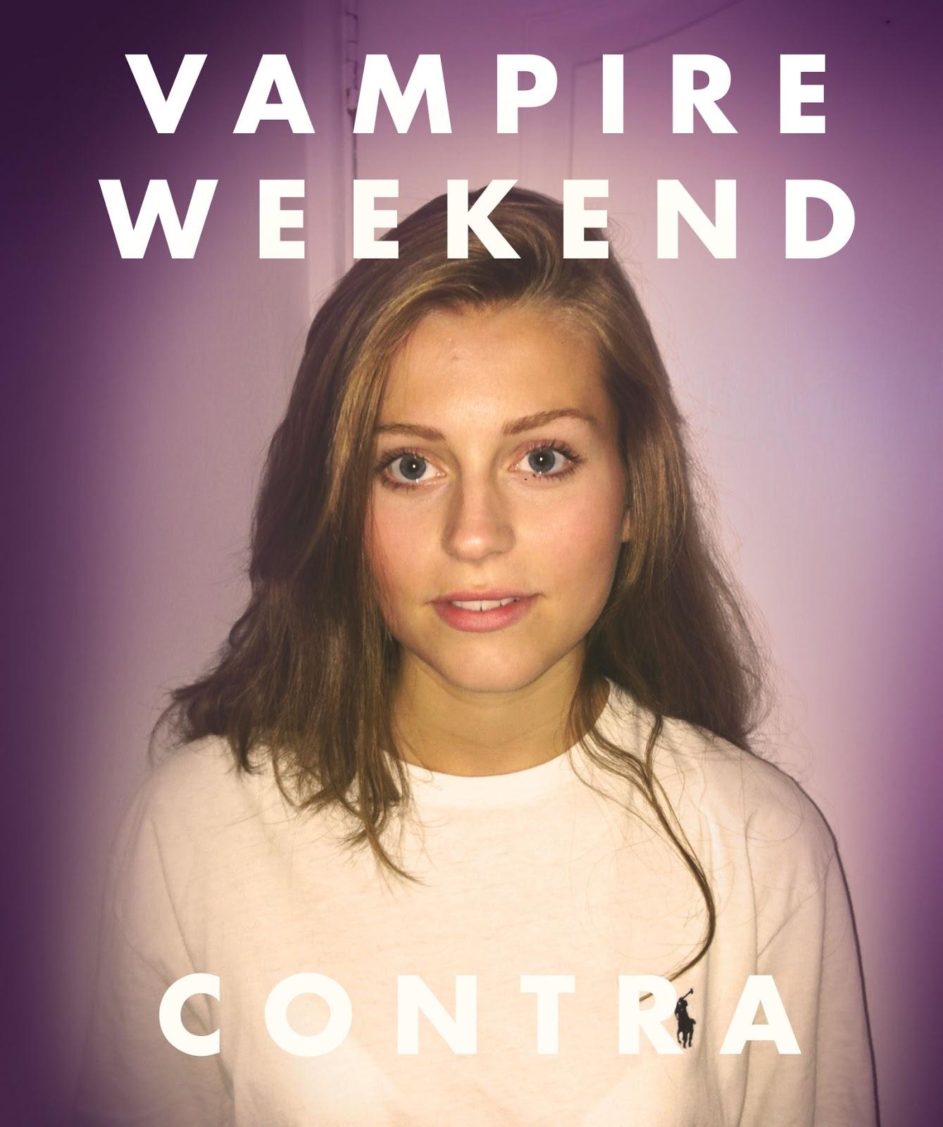 vampire weekend contra album cover