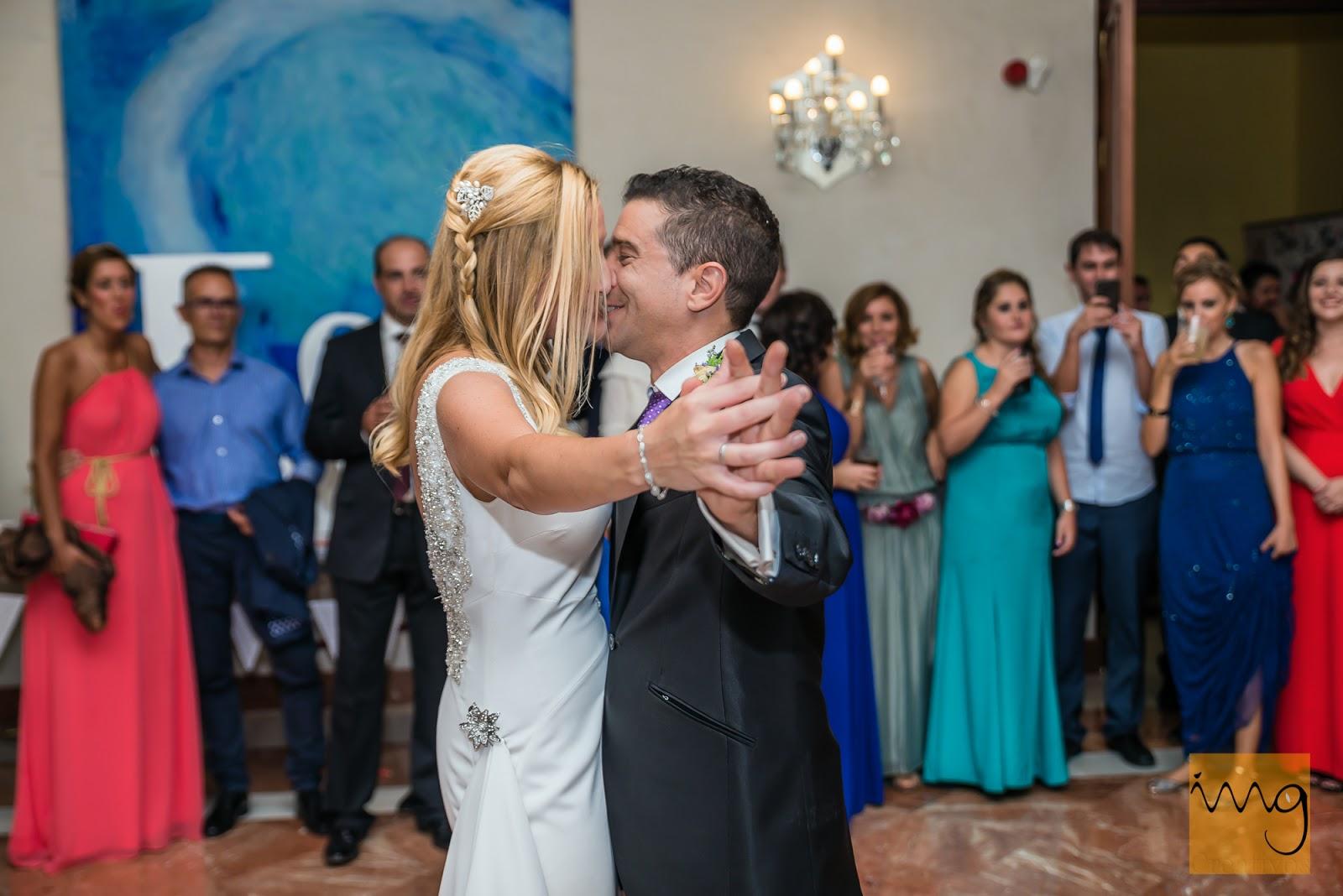 Fotografía del baile de boda