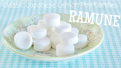 Ramune (Japanese Lemon Pop Tablet Candies)