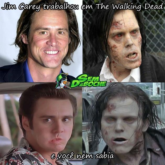 JOGO DOS 7 ERROS #43 - JIM CAREY EM THE WALKING DEAD