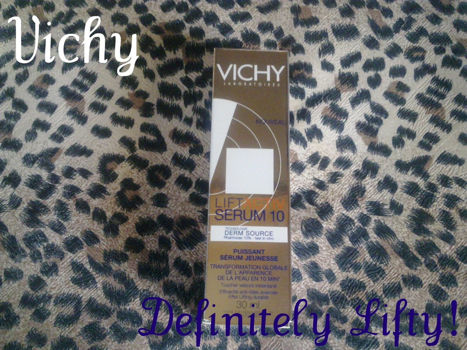 CherrySue, Doin' the Do: Vichy LiftActiv Serum 10 - It's Lifty