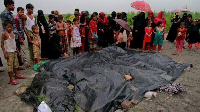 #HumanRights : 630,000 Rohingya Muslims have fled Myanmar while 6700 have been killed in just one month !