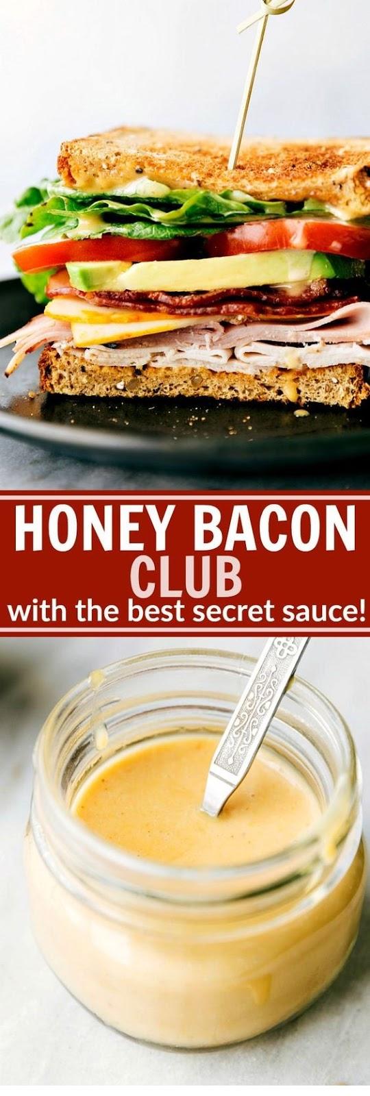 Honey Bacon Club